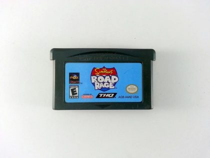 The Simpsons Road Rage game for Nintendo Gameboy Advance - Loose