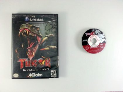 Turok Evolution game for Nintendo Gamecube -Game & Case