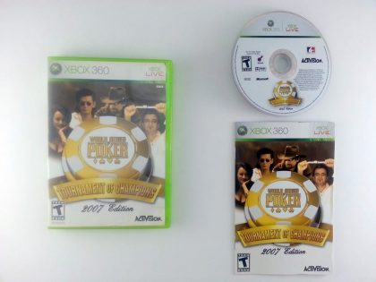 World Series of Poker Tournament of Champions 2007 game for Xbox 360 Complete
