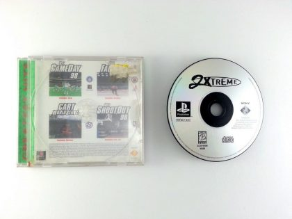 2Xtreme game for Sony Playstation PS1 PSX -Game & Case