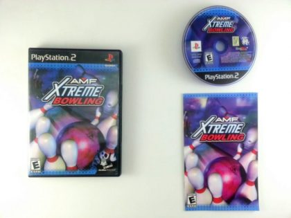 AMF Xtreme Bowling game for Sony Playstation 2 PS2 -Complete