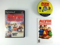 Alvin And The Chipmunks The Game game for Sony Playstation 2 PS2 -Complete