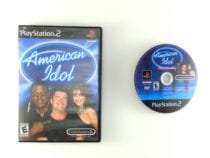 American Idol game for Sony Playstation 2 PS2 -Game & Case