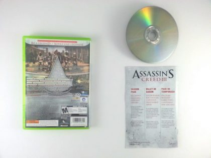 Assassin's Creed: Brotherhood game for Xbox 360 (Complete) | The Game Guy