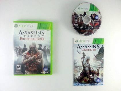 Assassin's Creed: Brotherhood game for Microsoft Xbox 360 -Complete