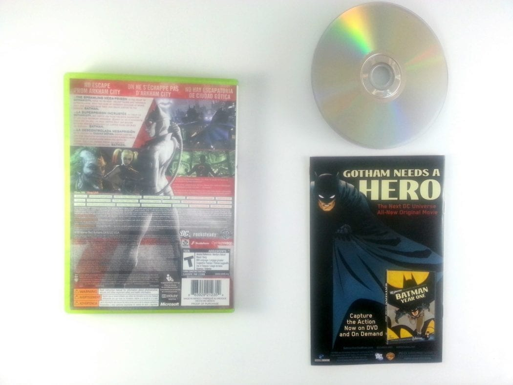 Batman: Arkham City game for Xbox 360 (Complete) | The Game Guy