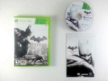 Batman: Arkham City game for Microsoft Xbox 360 -Complete