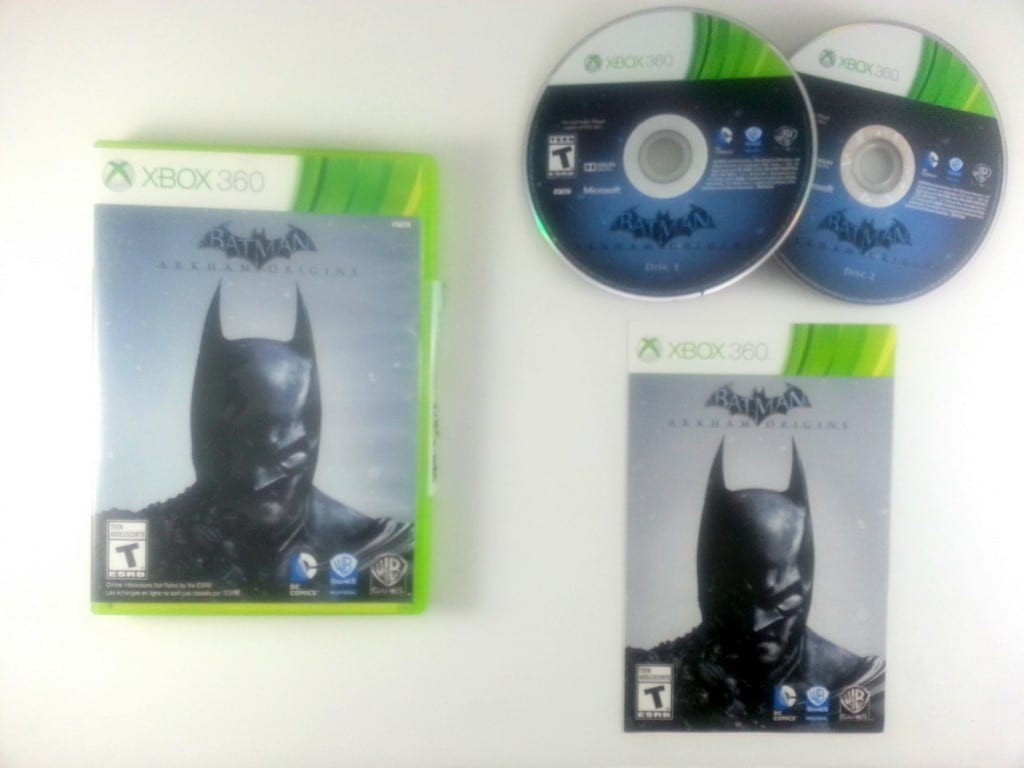 Batman: Arkham Origins game for Microsoft Xbox 360 -Complete