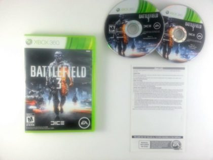 Battlefield 3 game for Microsoft Xbox 360 -Complete
