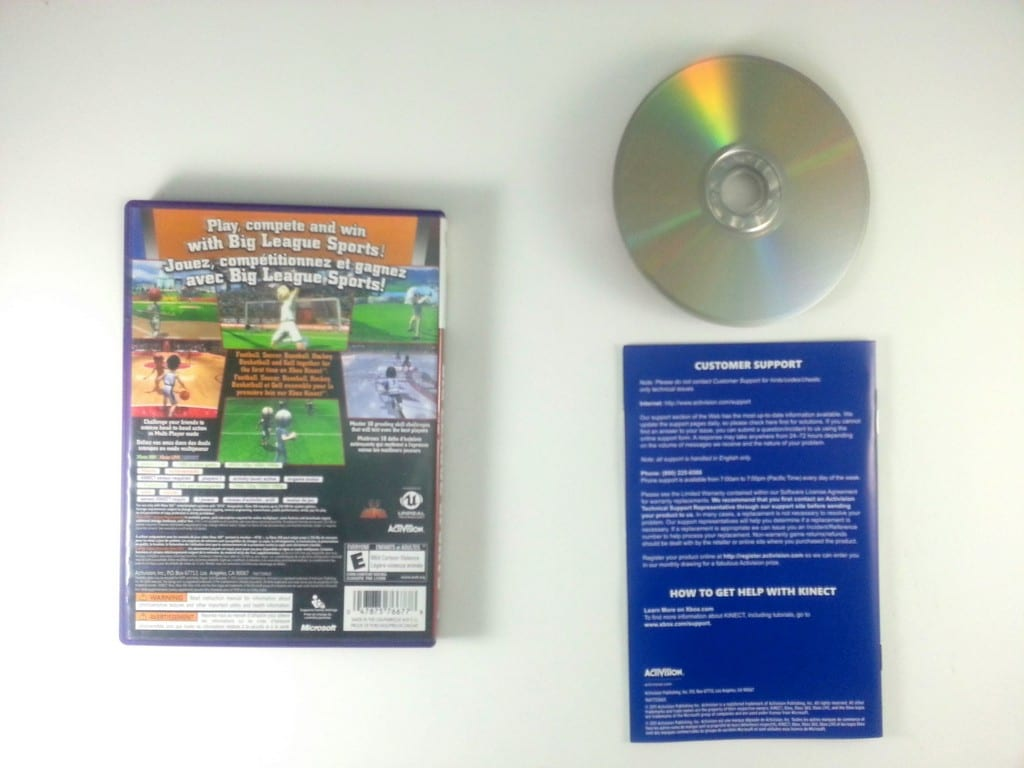 Big League Sports game for Xbox 360 (Complete)   The Game Guy
