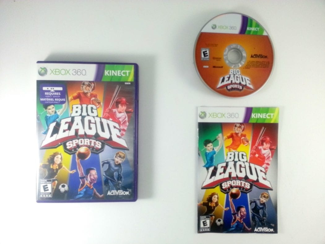 Big League Sports game for Microsoft Xbox 360 -Complete