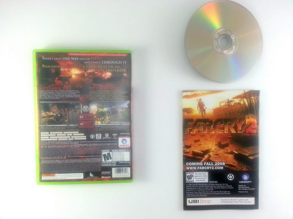 Brothers in Arms Hell's Highway game for Xbox 360 (Complete)   The Game Guy