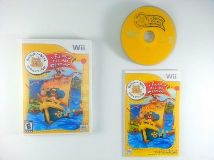 Build-A-Bear Workshop: A Friend Fur All Seasons game for Nintendo Wii -Complete