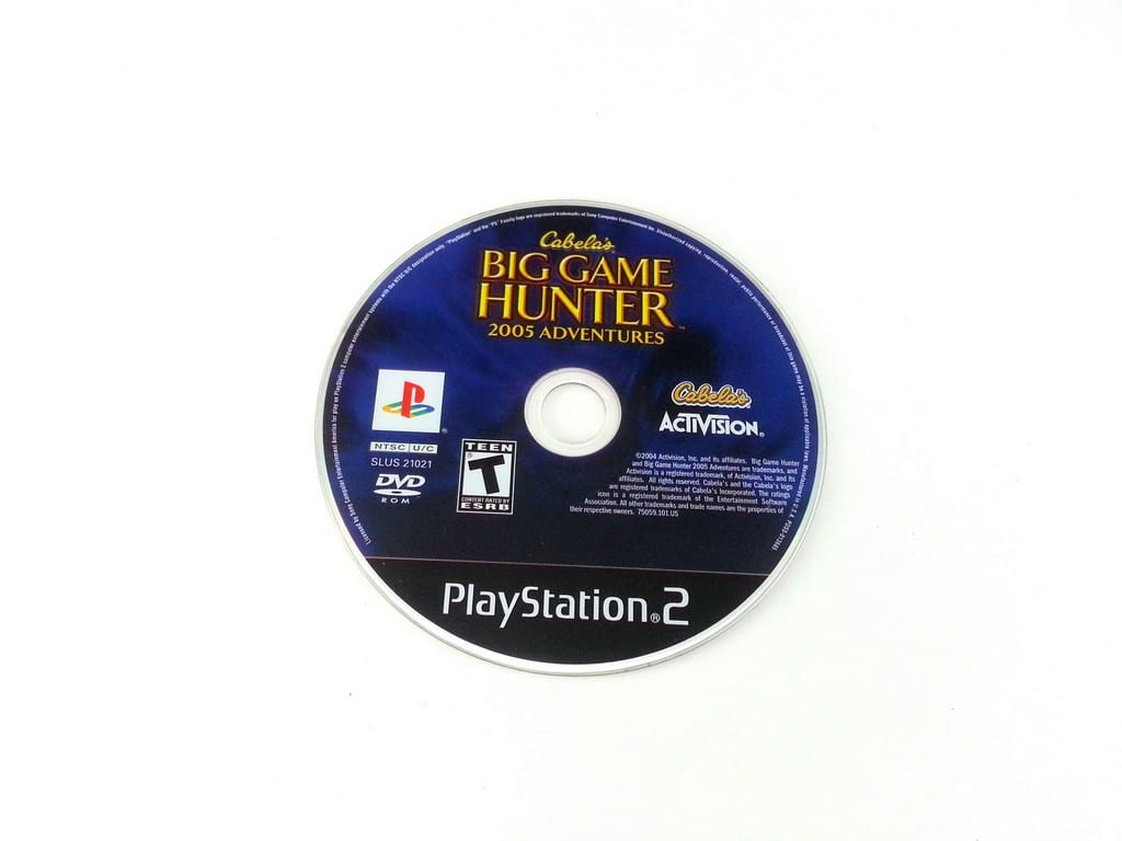 Cabela's Big Game Hunter 2005 Adventures game for Playstation 2 PS2 - Loose