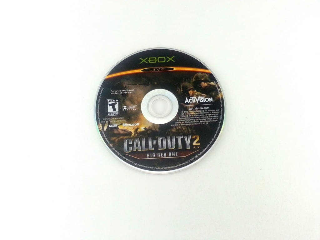 Call of Duty 2 Big Red One game for Microsoft Xbox - Loose