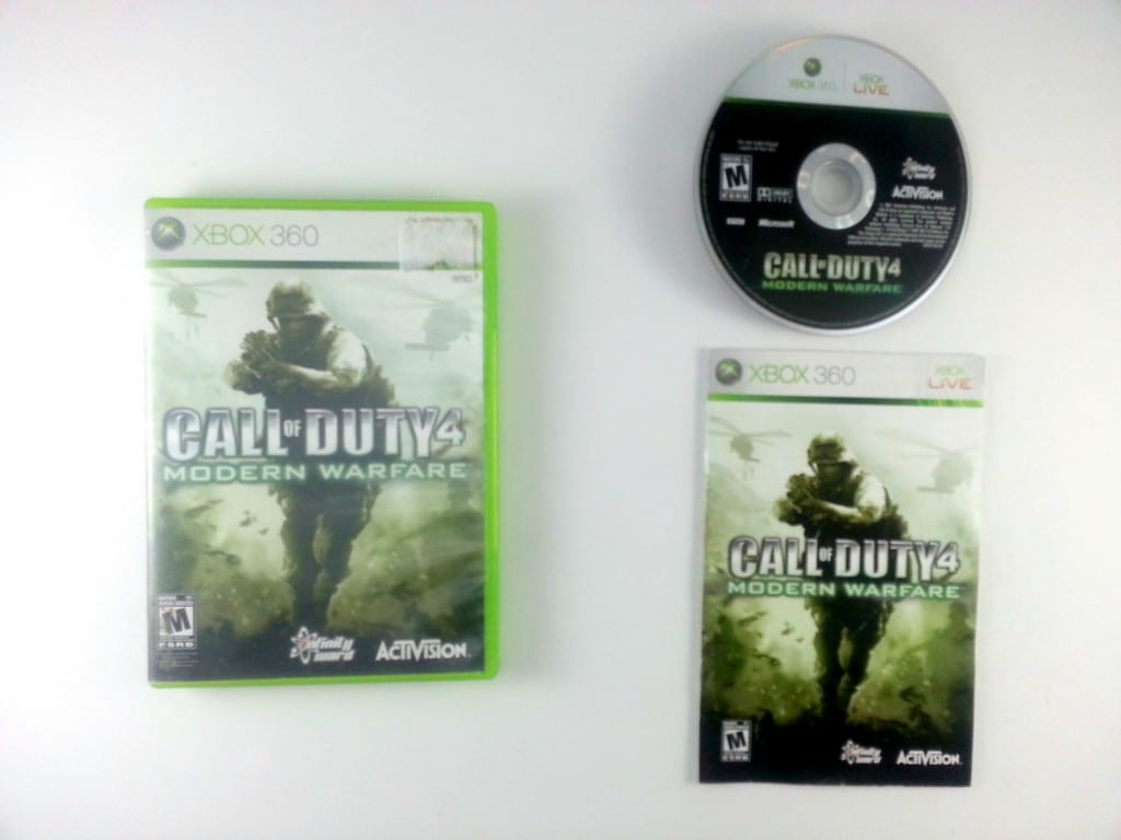 Call of Duty 4 Modern Warfare game for Xbox 360 (Complete) | The Game Guy