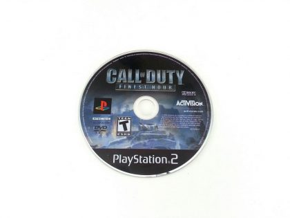 Call of Duty Finest Hour game for Sony Playstation 2 PS2 - Loose