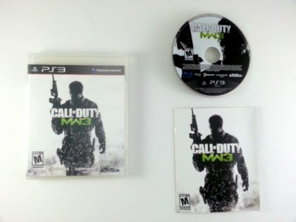 Call of Duty: Modern Warfare 3 game for Sony Playstation 3 PS3 -Complete