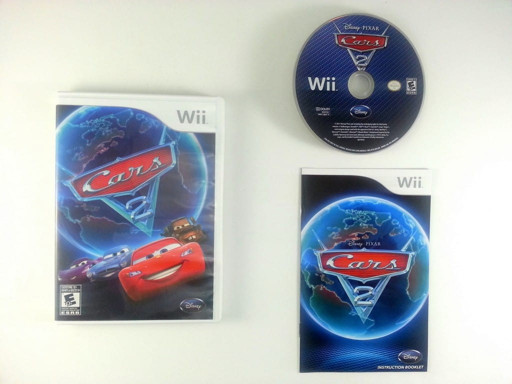 cars 2 game for wii complete the game guy. Black Bedroom Furniture Sets. Home Design Ideas