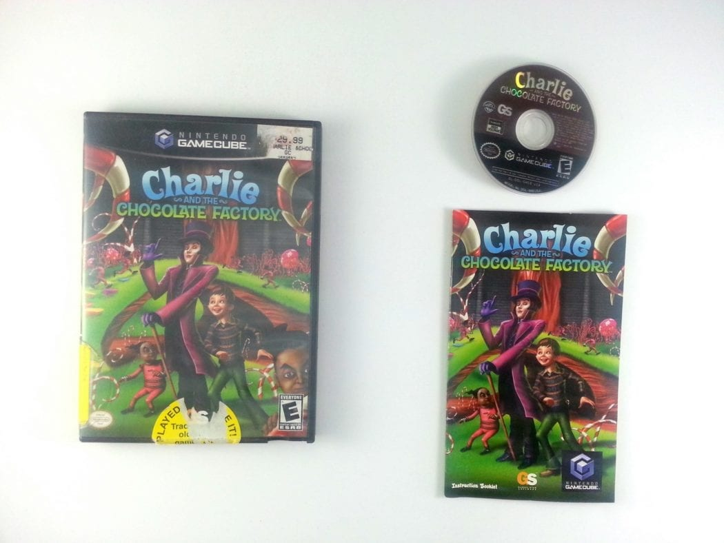 Charlie and the Chocolate Factory game for Nintendo Gamecube -Complete