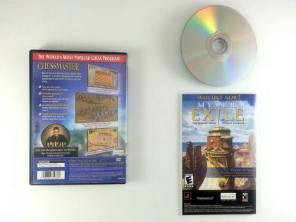 Chessmaster game for Playstation 2 (Complete)   The Game Guy