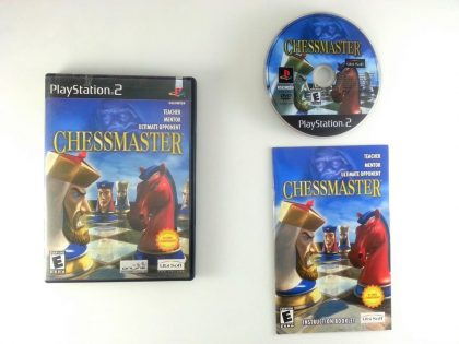 Chessmaster game for Sony Playstation 2 PS2 -Complete
