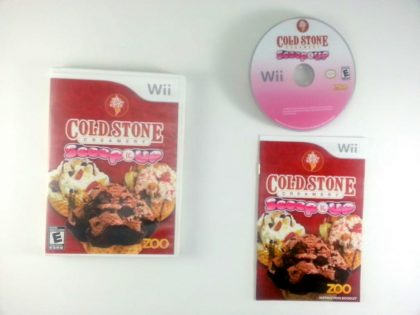 Cold Stone Creamery: Scoop It Up game for Nintendo Wii -Complete