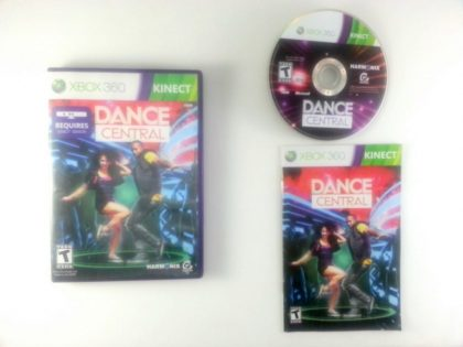 Dance Central game for Microsoft Xbox 360 -Complete