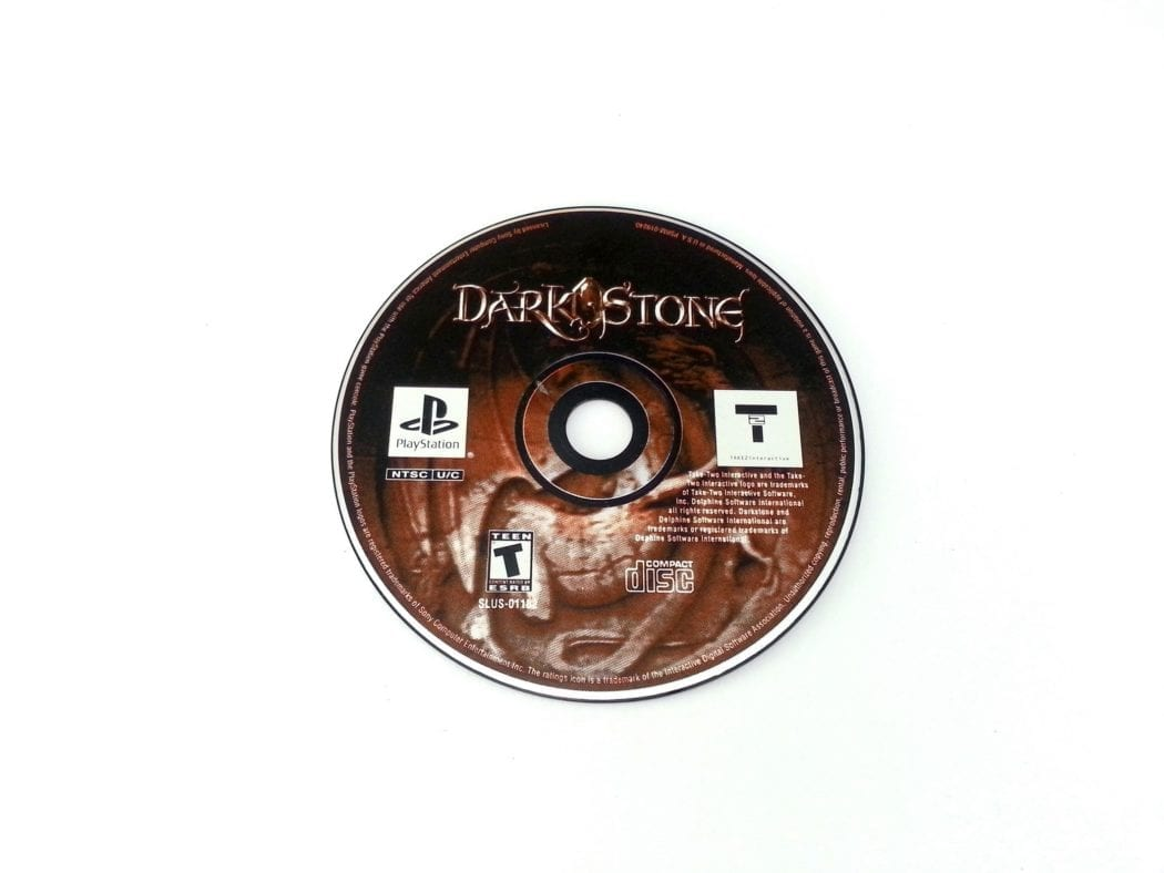 Darkstone game for Sony Playstation PS1 PSX - Loose