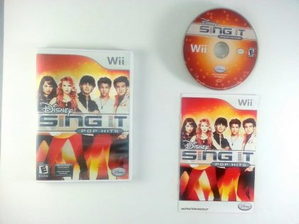 Disney Sing It: Pop Hits game for Nintendo Wii -Complete