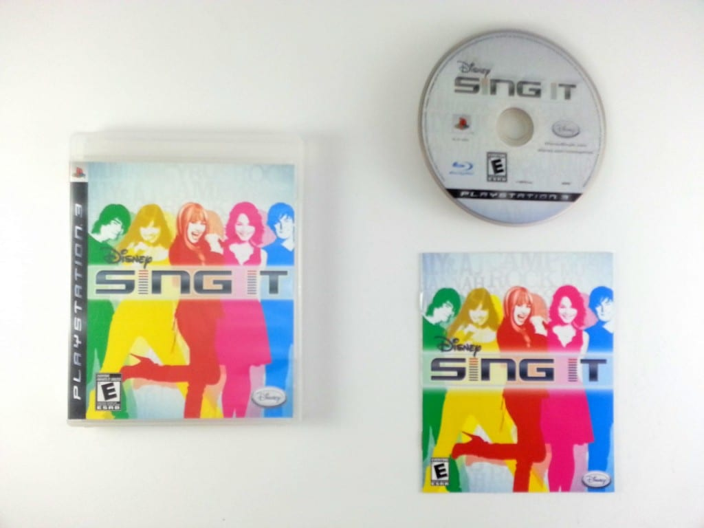 Disney Sing It game for Sony Playstation 3 PS3 -Complete