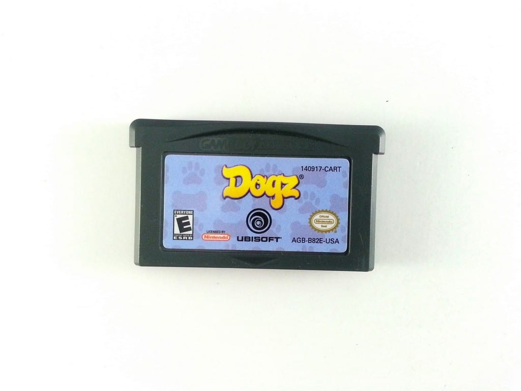 Dogz game for Nintendo Gameboy Advance - Loose