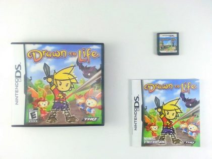 Drawn to Life game for Nintendo DS -Complete