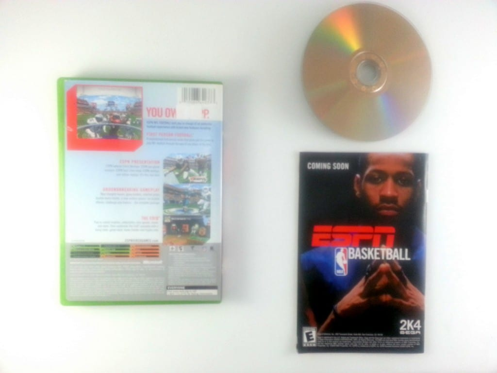 ESPN Football 2004 game for Xbox (Complete) | The Game Guy