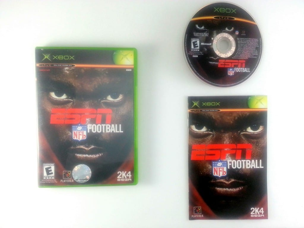 ESPN Football 2004 game for Microsoft Xbox -Complete