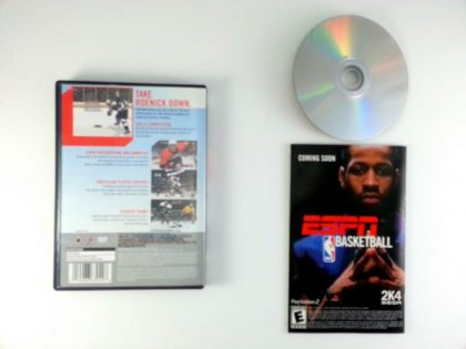 ESPN Hockey 2004 game for Playstation 2 (Complete)   The Game Guy