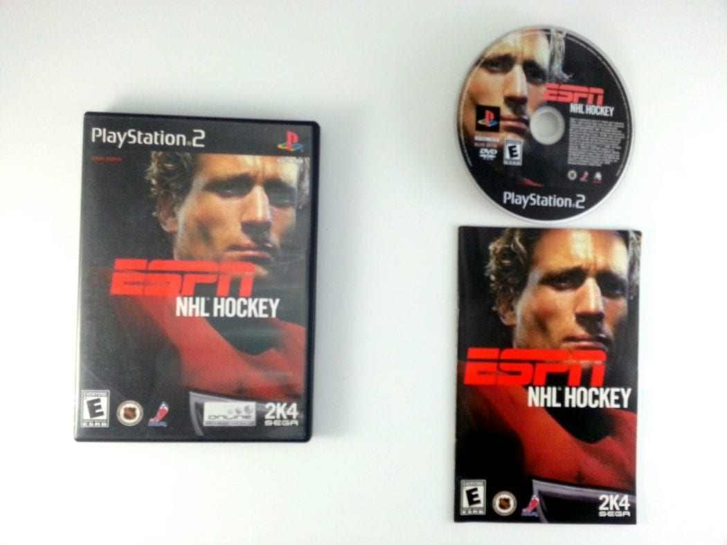 ESPN Hockey 2004 game for Sony Playstation 2 PS2 -Complete