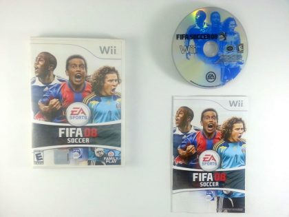 FIFA 2008 game for Nintendo Wii -Complete