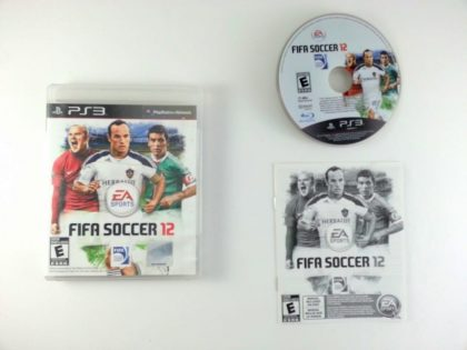 FIFA Soccer 12 game for Sony Playstation 3 PS3 -Complete