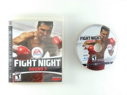 Fight Night Round 3 game for Sony Playstation 3 PS3 -Game & Case