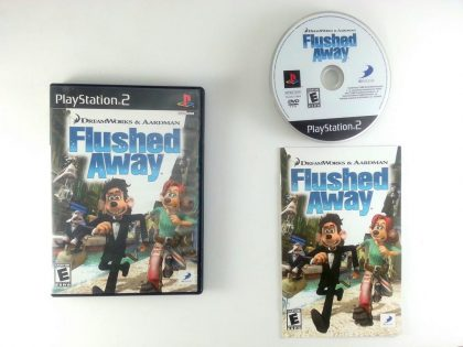 Flushed Away game for Sony Playstation 2 PS2 -Complete