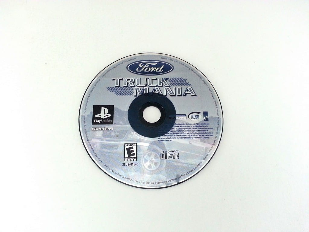 Ford Truck Mania game for Sony Playstation PS1 PSX - Loose