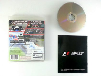 Formula One Championship Edition game for Playstation 3 (Complete) | The Game Guy