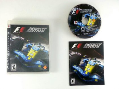 Formula One Championship Edition game for Sony Playstation 3 PS3 -Complete