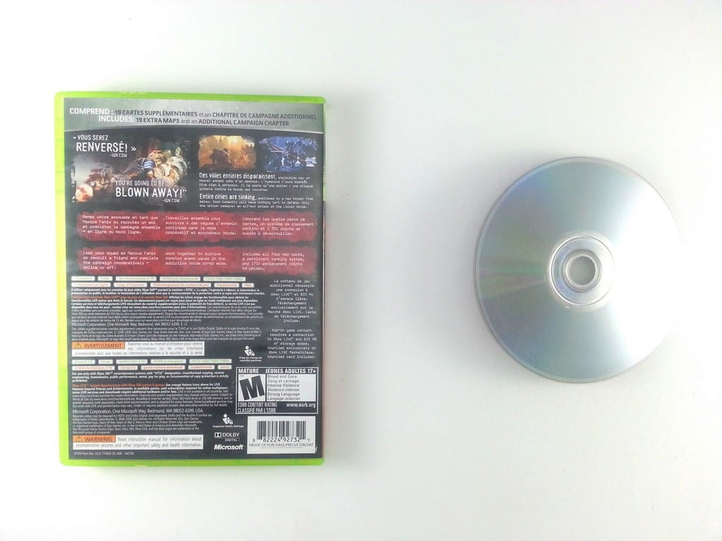 Gears of War 2 game for Xbox 360 | The Game Guy