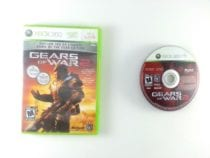 Gears of War 2 game for Microsoft Xbox 360 -Game & Case