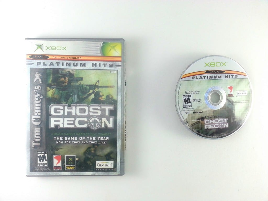Ghost Recon game for Microsoft Xbox -Game & Case