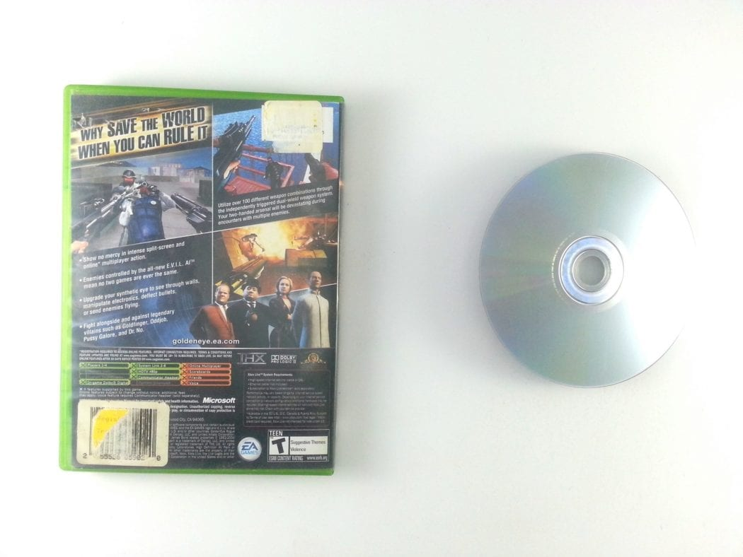 Goldeneye Rogue Agent game for Xbox   The Game Guy
