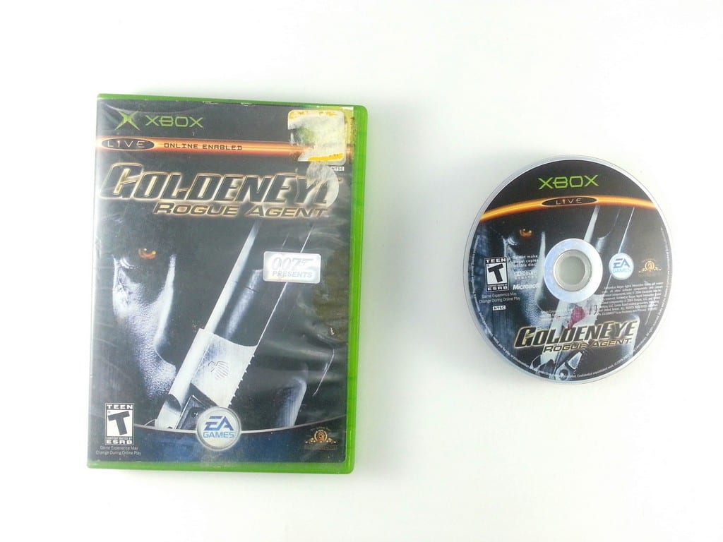 Goldeneye Rogue Agent game for Microsoft Xbox -Game & Case