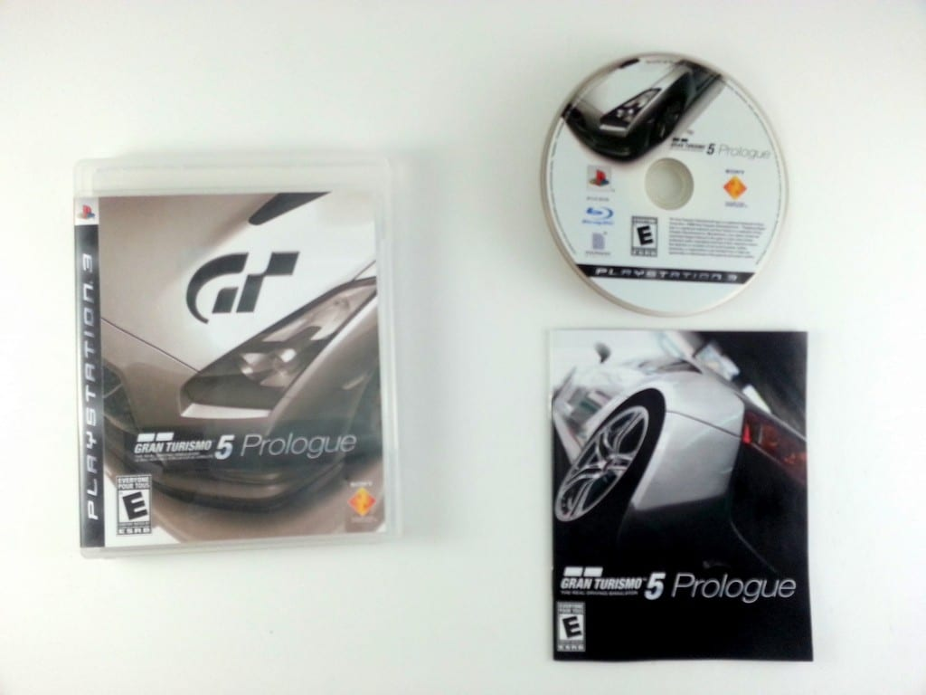 gran turismo 5 prologue game for playstation 3 complete. Black Bedroom Furniture Sets. Home Design Ideas